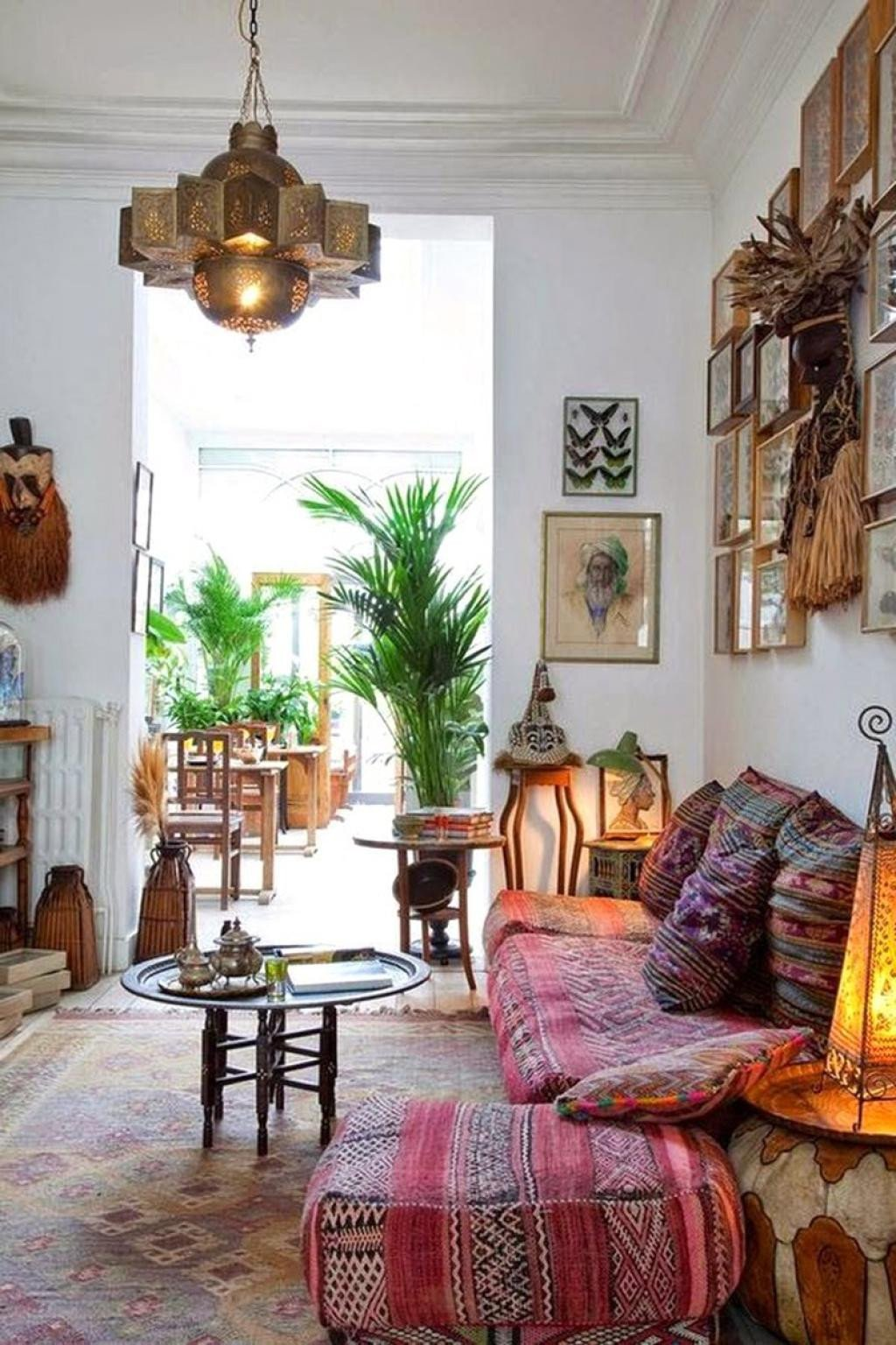 Small Bohemian Living Room Ideas 31 Best Bohemian Interior Design Ideas