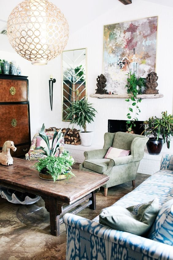 Small Bohemian Living Room Ideas 31 Inspiring Bohemian Decorating Ideas for Living Room