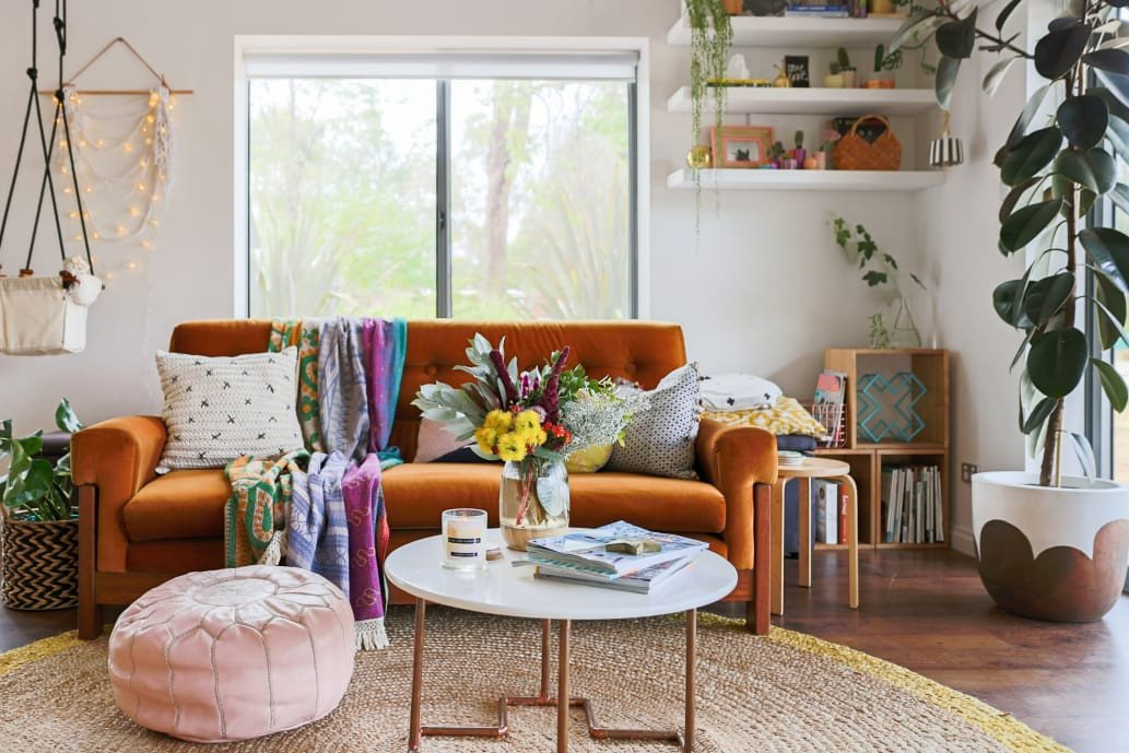 Small Bohemian Living Room Ideas Bohemian Style Decor Ideas From Australian Homes