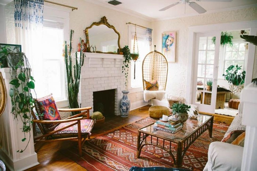 Small Bohemian Living Room Ideas Modern Bohemian Living Room Ideas for Small Apartment 43