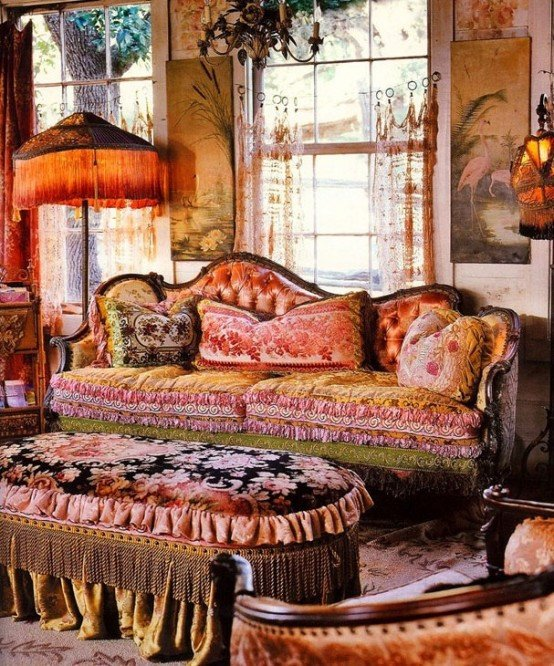 Small Bohemian Living Room Ideas Porch sofas Bohemian Living Room Design Ideas Gypsy Decor