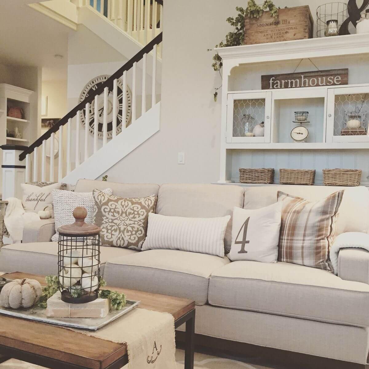 Small Farmhouse Living Room Ideas 35 Best Farmhouse Living Room Decor Ideas and Designs for 2017
