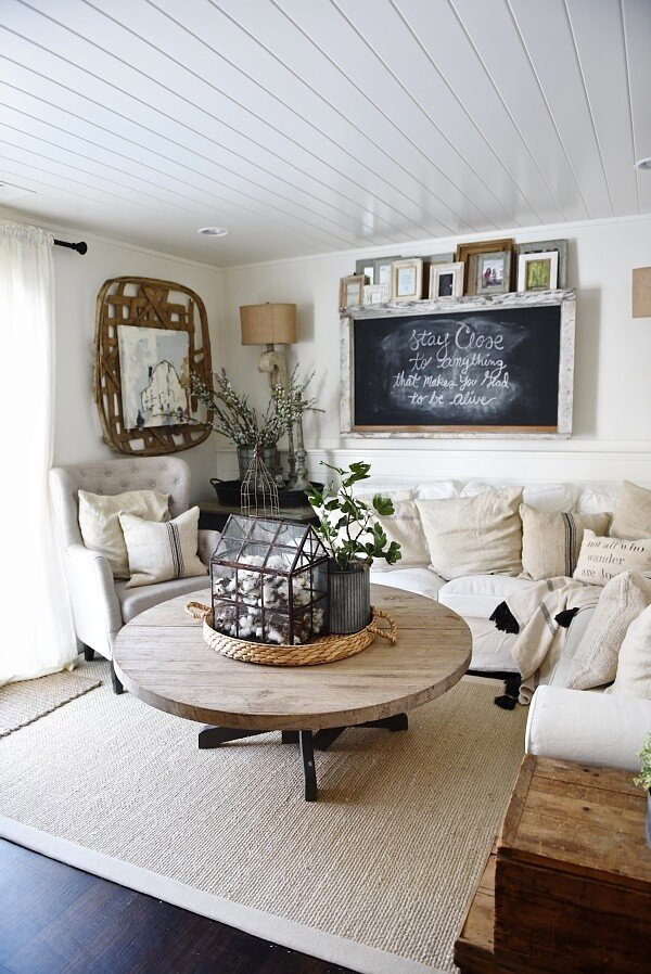 Small Farmhouse Living Room Ideas 35 Best Farmhouse Living Room Decor Ideas and Designs for 2019