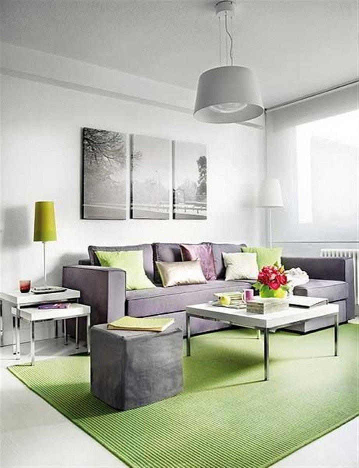 Small Gray Living Room Ideas 15 Lime Green Living Room Designs