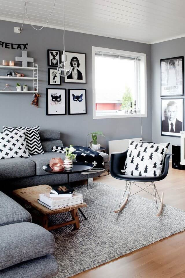Small Gray Living Room Ideas 25 Best Small Living Room Decor and Design Ideas for 2019