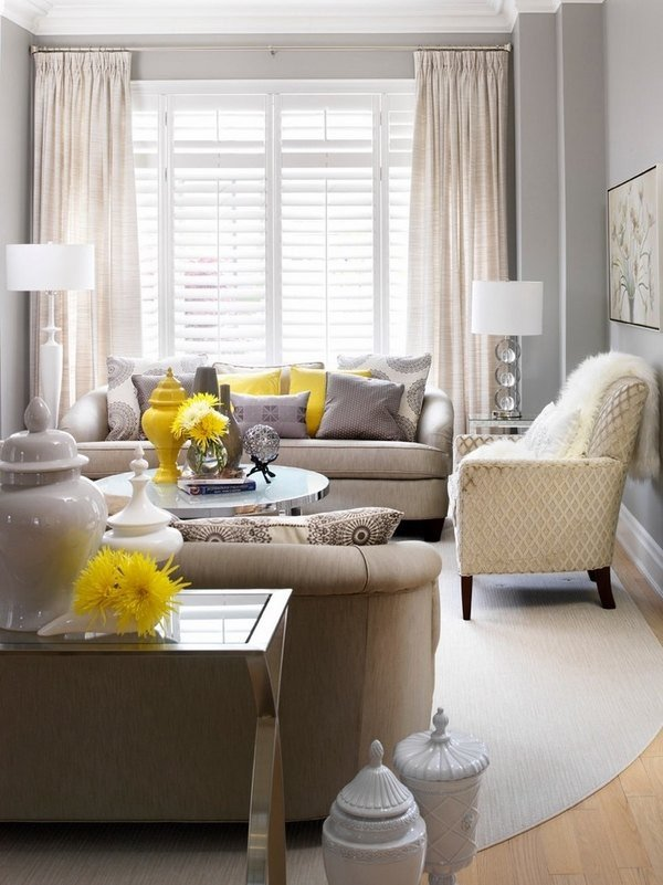 Small Gray Living Room Ideas 50 Decorating Ideas for Small Living Rooms Simple Tricks