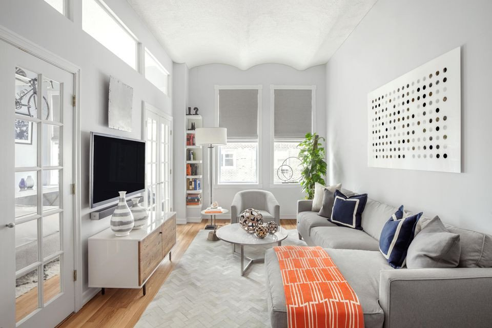 Small Gray Living Room Ideas How to Decorate A Small Living Room