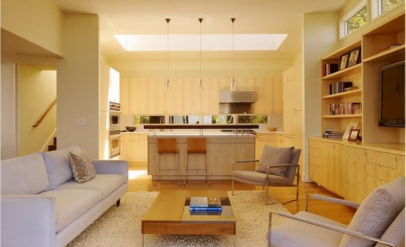 Small Kitchen Living Room Ideas Small Open Plan Kitchen and Living Room