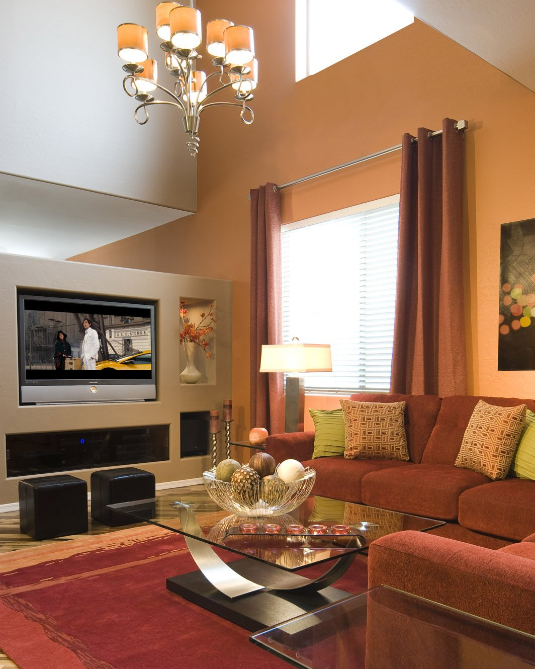 Small Living Room Accent Walls Ideas 41 Brown Accent Wall In Living Room 15 Pretty Brown