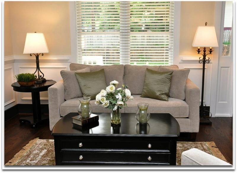 Small Living Room Decor Ideas Home Staging solutions for Decorating A Small Living Room