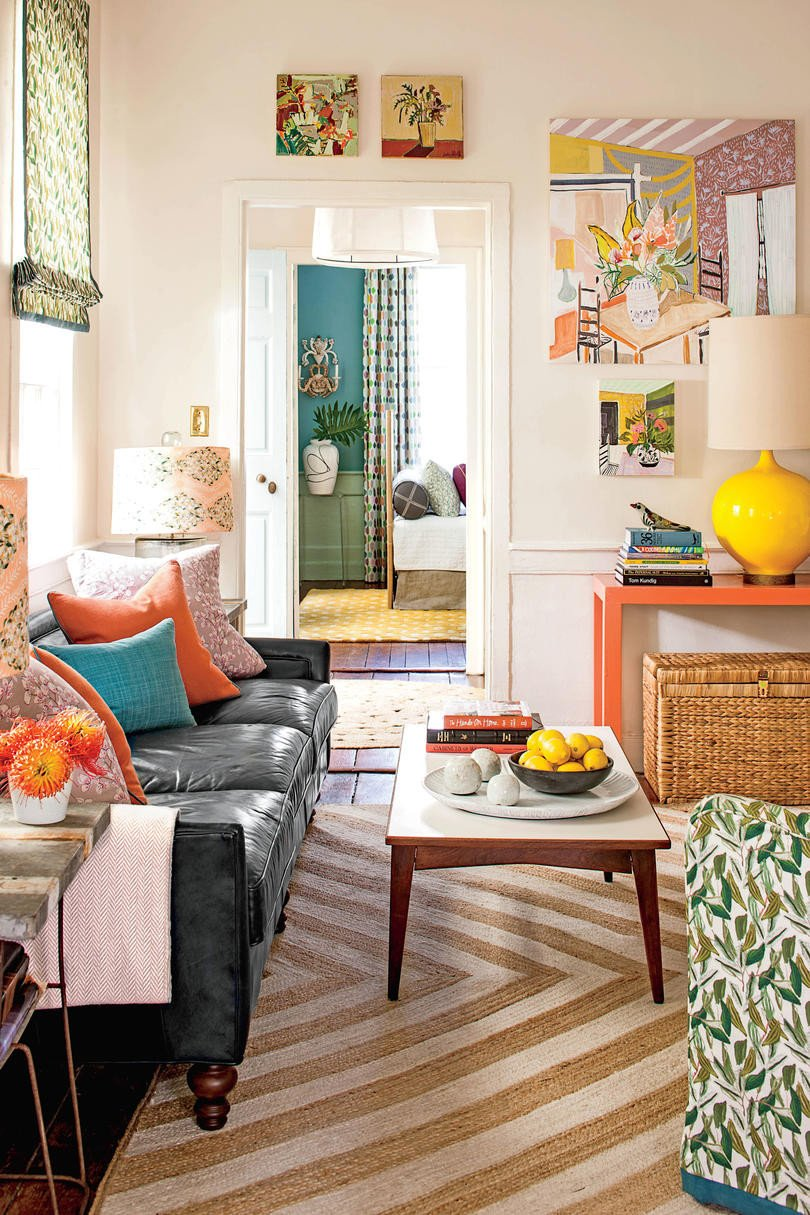Small Living Room Decorating Ideas 50 Small Space Decorating Tricks southern Living