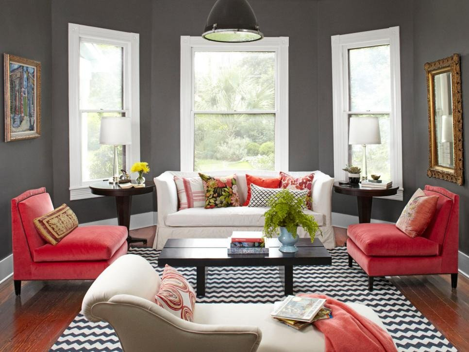 Small Living Room Design Colors 20 Colorful Living Rooms to Copy