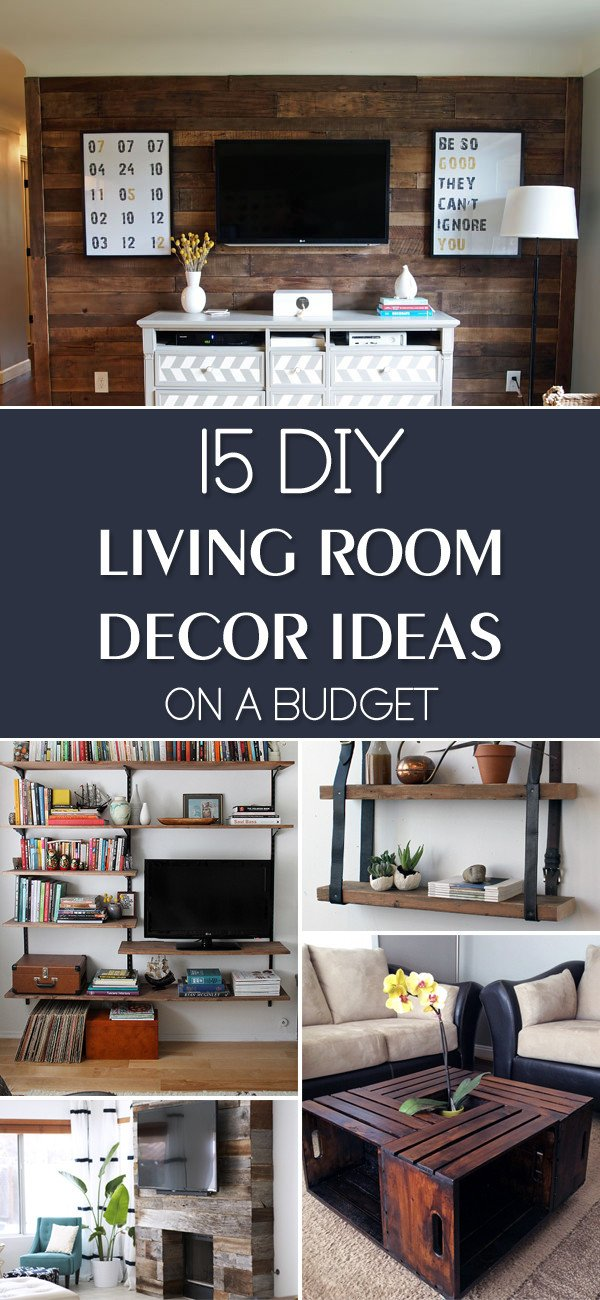 Small Living Room Diy Ideas 15 Diy Living Room Decor Ideas A Bud