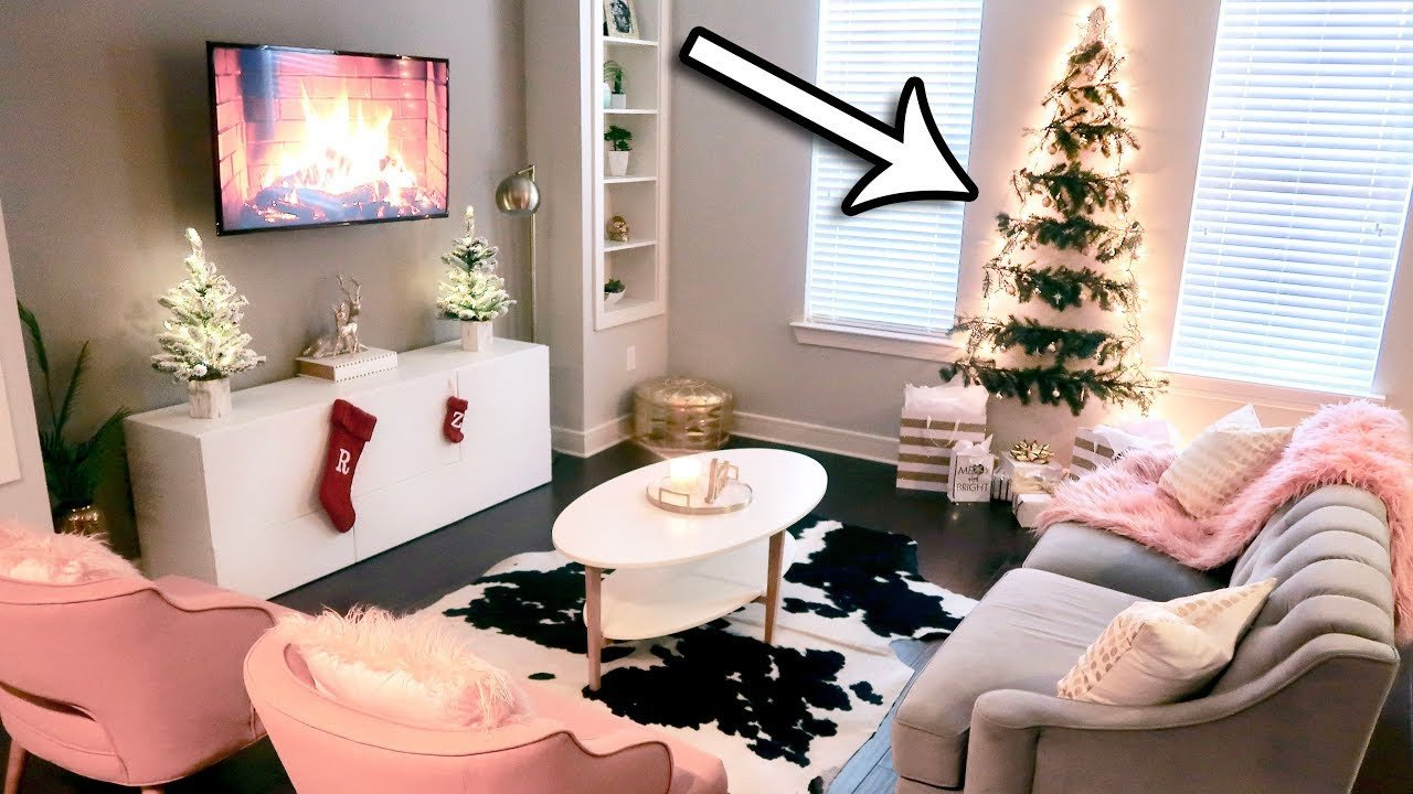 Small Living Room Diy Ideas Diy Christmas Tree Wall Great for Small Spaces My