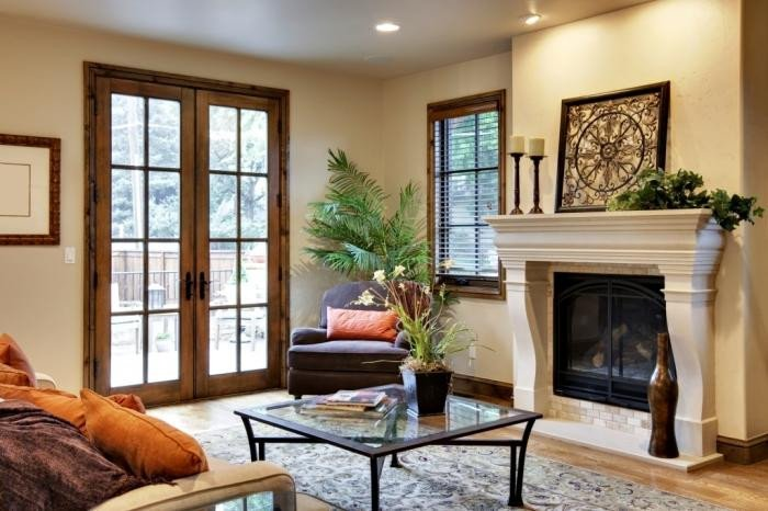 Small Living Room Ideas Doors 15 Cozy Living Rooms with French Doors and Windows Rilane