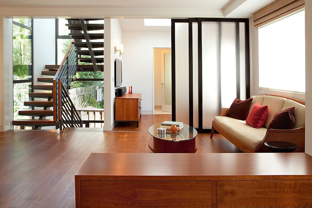 Small Living Room Ideas Doors 25 Nifty Space Saving Room Dividers for the Living Room
