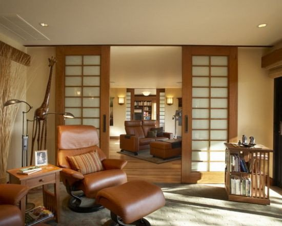 Small Living Room Ideas Doors 33 Wooden Sliding Doors for Living Room