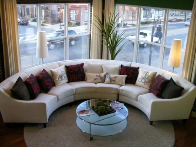 Small Living Room Ideaswith Sectionals 20 Modern Living Room Designs with Stylish Curved sofas