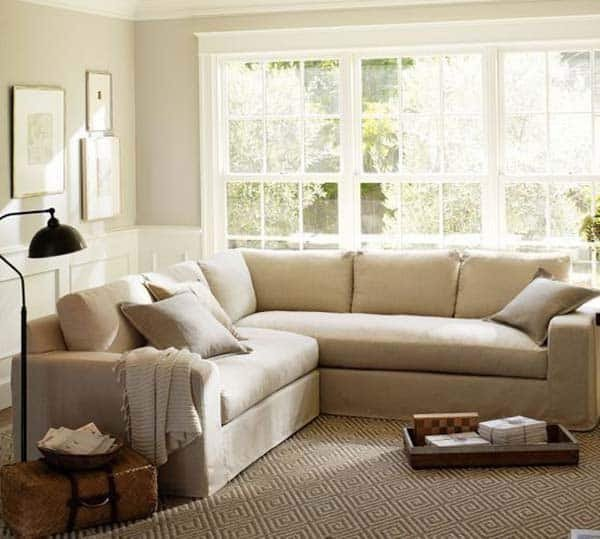 Small Living Room Ideaswith Sectionals 38 Small yet Super Cozy Living Room Designs