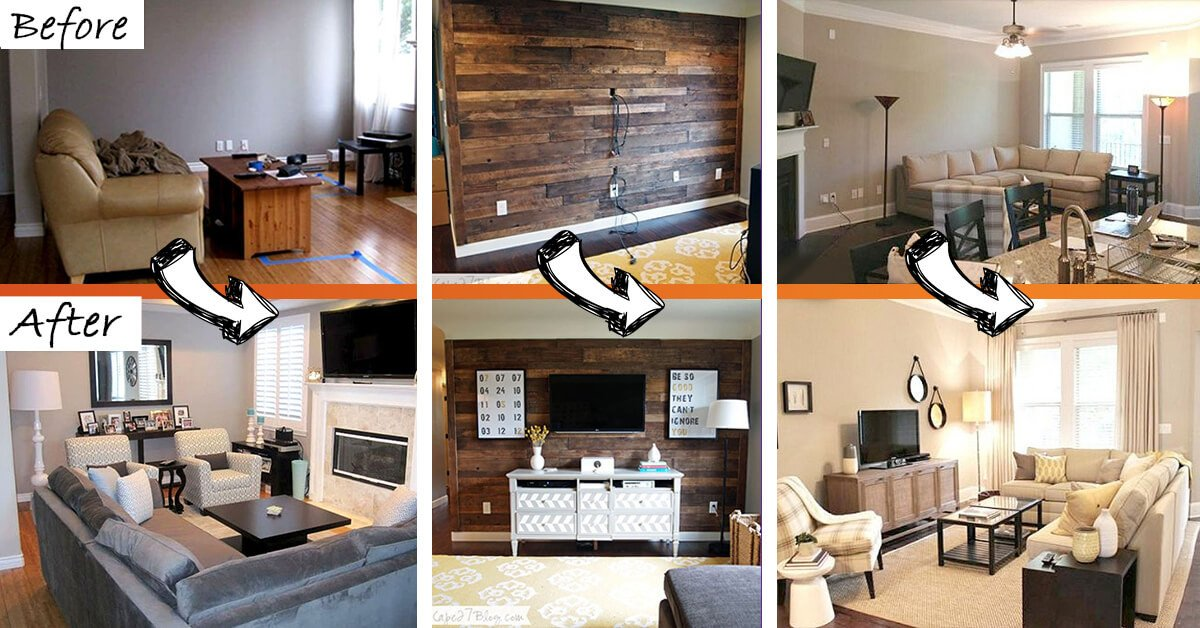 Small Living Room Makeover Ideas 26 Best Bud Friendly Living Room Makeover Ideas for 2017