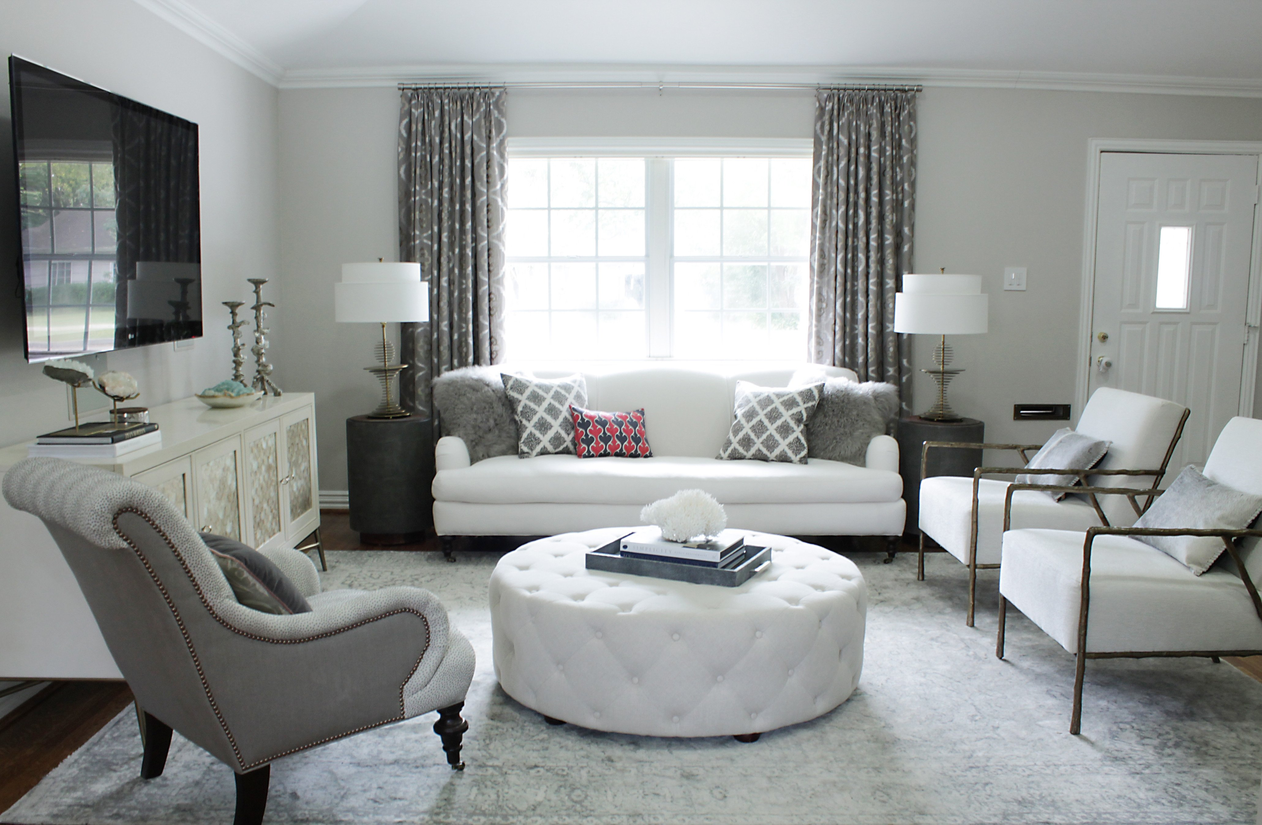 Small Living Room Makeover Ideas before & after An Elegant Bud Friendly Living Room