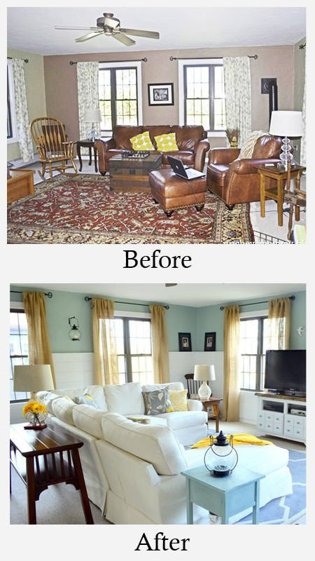 Small Living Room Makeover Ideas Small Living Room Makeovers