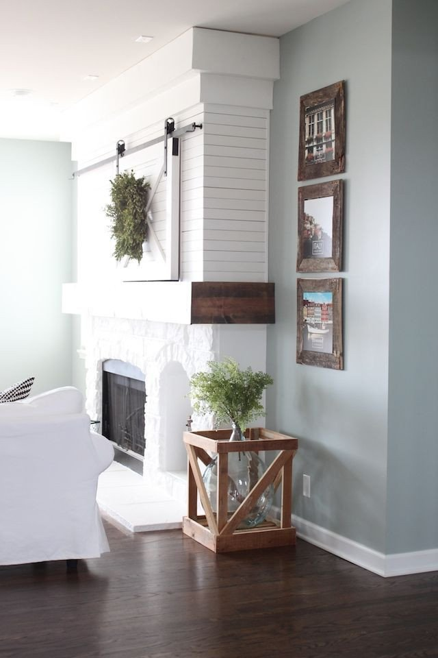 Small Living Room Paint Ideas Farmhouse Living Room Sherwin Williams Silver Mist