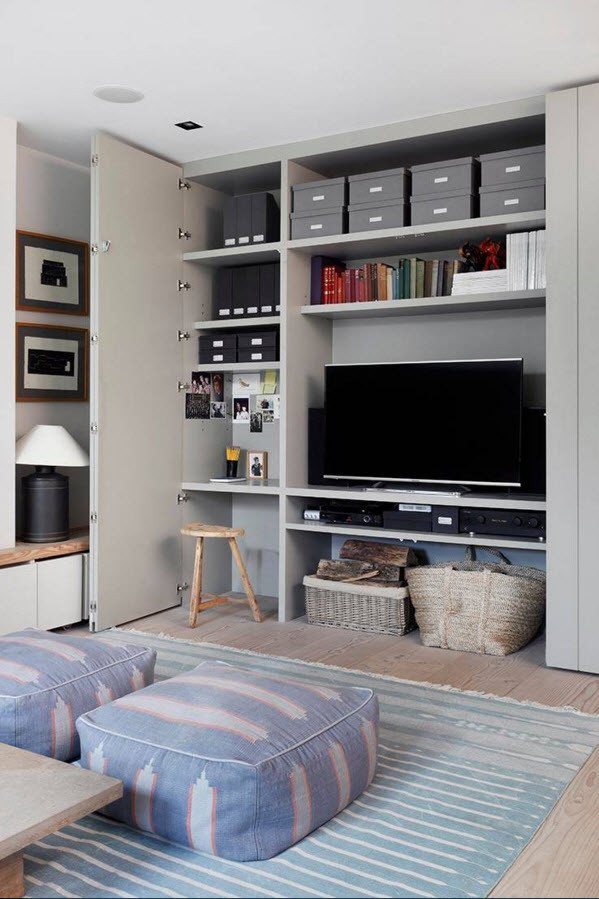 Small Living Room Storage Ideas Storage Systems Variety for the Living Room Small Design