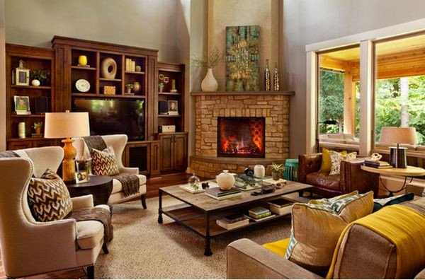 Small Living Room with Fireplace 100 Fireplace Design Ideas for A Warm Home During Winter