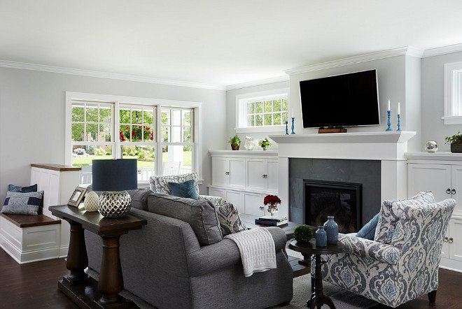 Small Living Room with Fireplace Cape Cod Cottage Remodel Home Bunch Interior Design Ideas