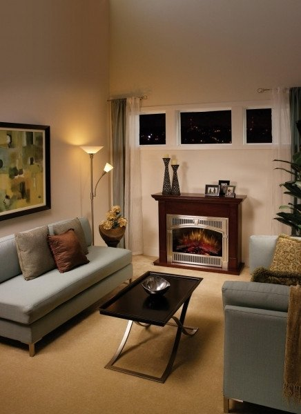 Small Living Room with Fireplace Electric Fireplace for Small Living Room