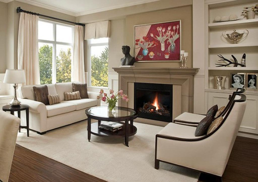 Small Living Room with Fireplace How to Arrange Your Living Room Furniture