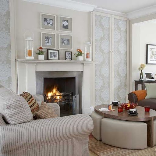 Small Living Room with Fireplace Living Room 6 Beautiful Designs with Fireplace Interior