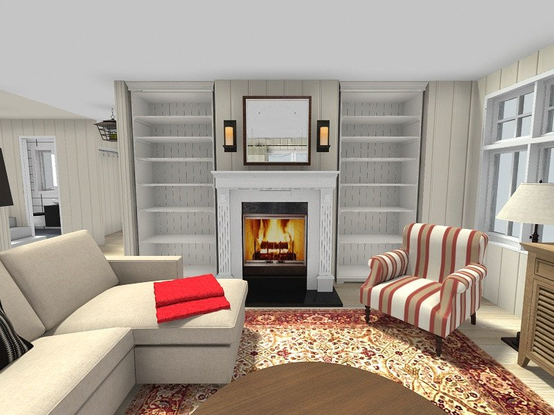Small Living Room with Fireplace Living Room Ideas