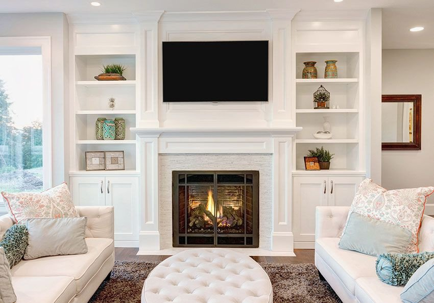 Small Living Room with Fireplace Small Living Room Ideas – Decorating Tips to Make A Room