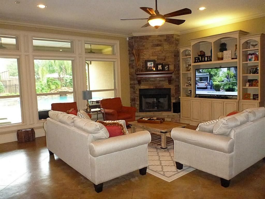 Small Living Roomwith Fireplace Ideas Decorating Around Fireplace In Corner Google Search