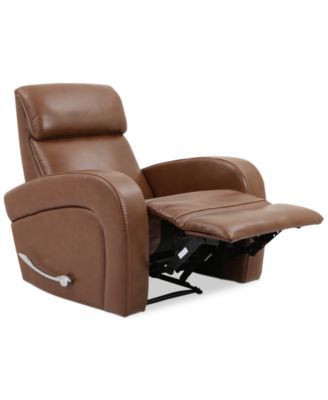 Small Recliners for Bedroom $499 Closeout Aryah Leather Swivel Recliner if You Went
