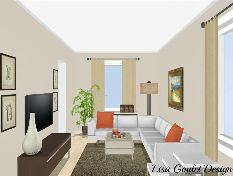 Small Rectangle Living Room Ideas How to Furnish and Love A Long Narrow Living Room In 5
