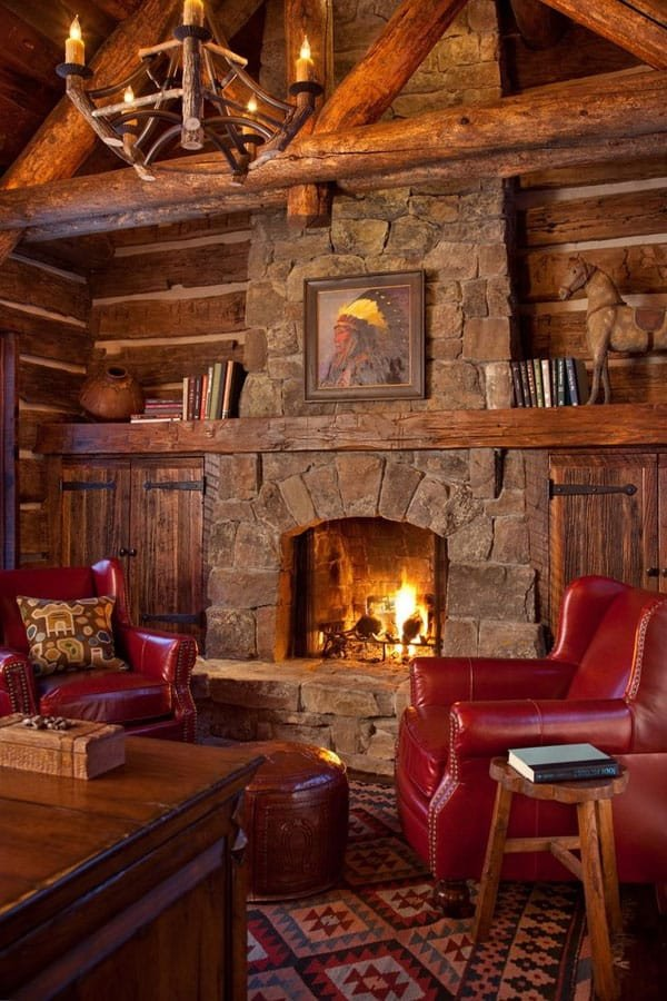 Small Rustic Living Room Ideas 47 Extremely Cozy and Rustic Cabin Style Living Rooms