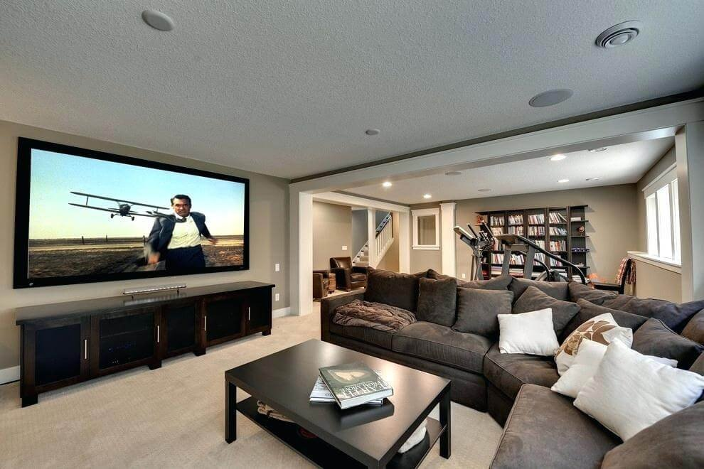 Smallmodern Living Room Decorating Ideas 8 Basement Renovation & Finishing Small Basement Living