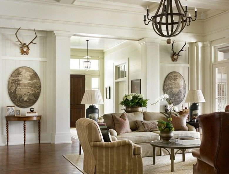 Southern Traditional Living Room southern Home Interiors