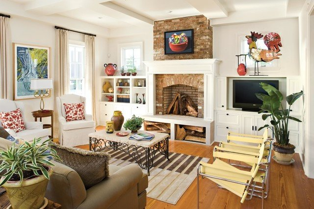 Southern Traditional Living Room southern Living S