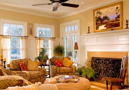 Southern Traditional Living Room southern Living the Green Eyed Lady Blog