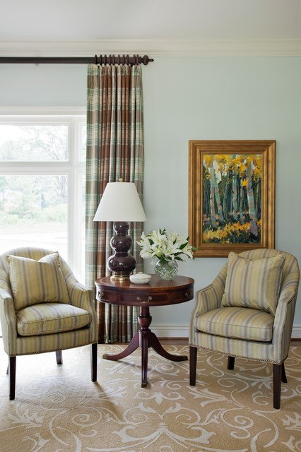 Southern Traditional Living Room southern Traditional