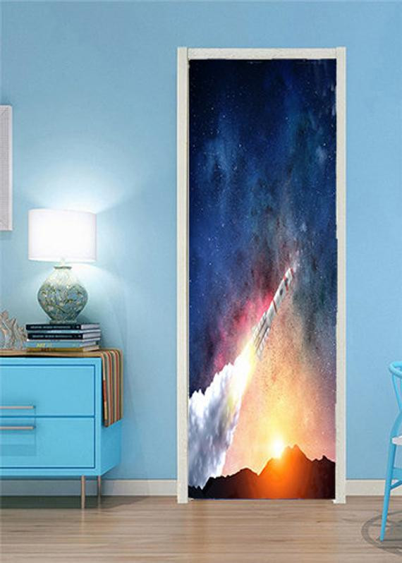 Space Decor for Bedroom Rocket Space Ship Space Kids Decor Outer Space Decor Rocket Ship Decor Space Bedroom Decor Space theme Room Space Decor Galaxy Decor