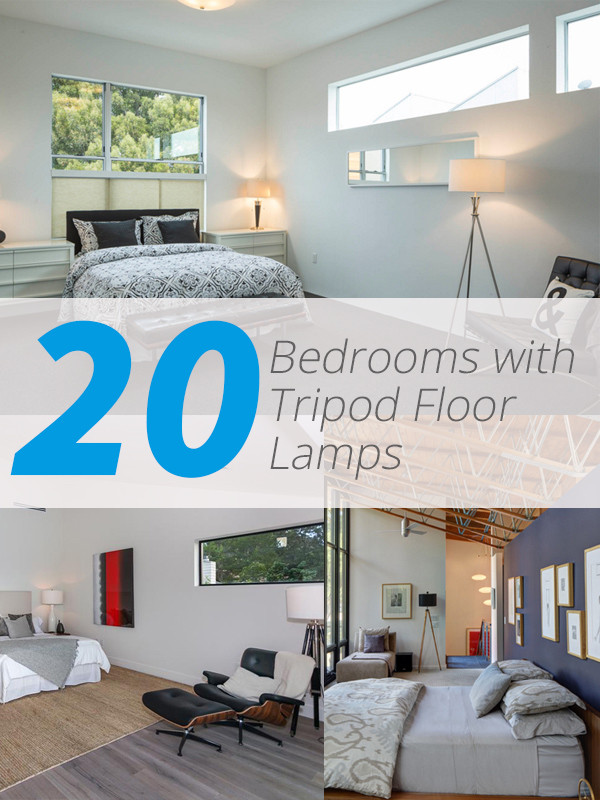 Standing Lamps for Bedroom 20 Awesome Bedrooms with TriPod Floor Lamps