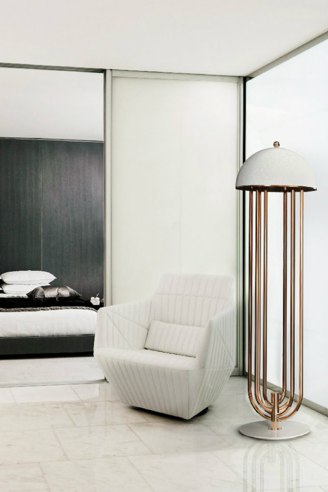 Standing Lamps for Bedroom How to Use Modern Floor Lamps In Contemporary Bedroom Designs