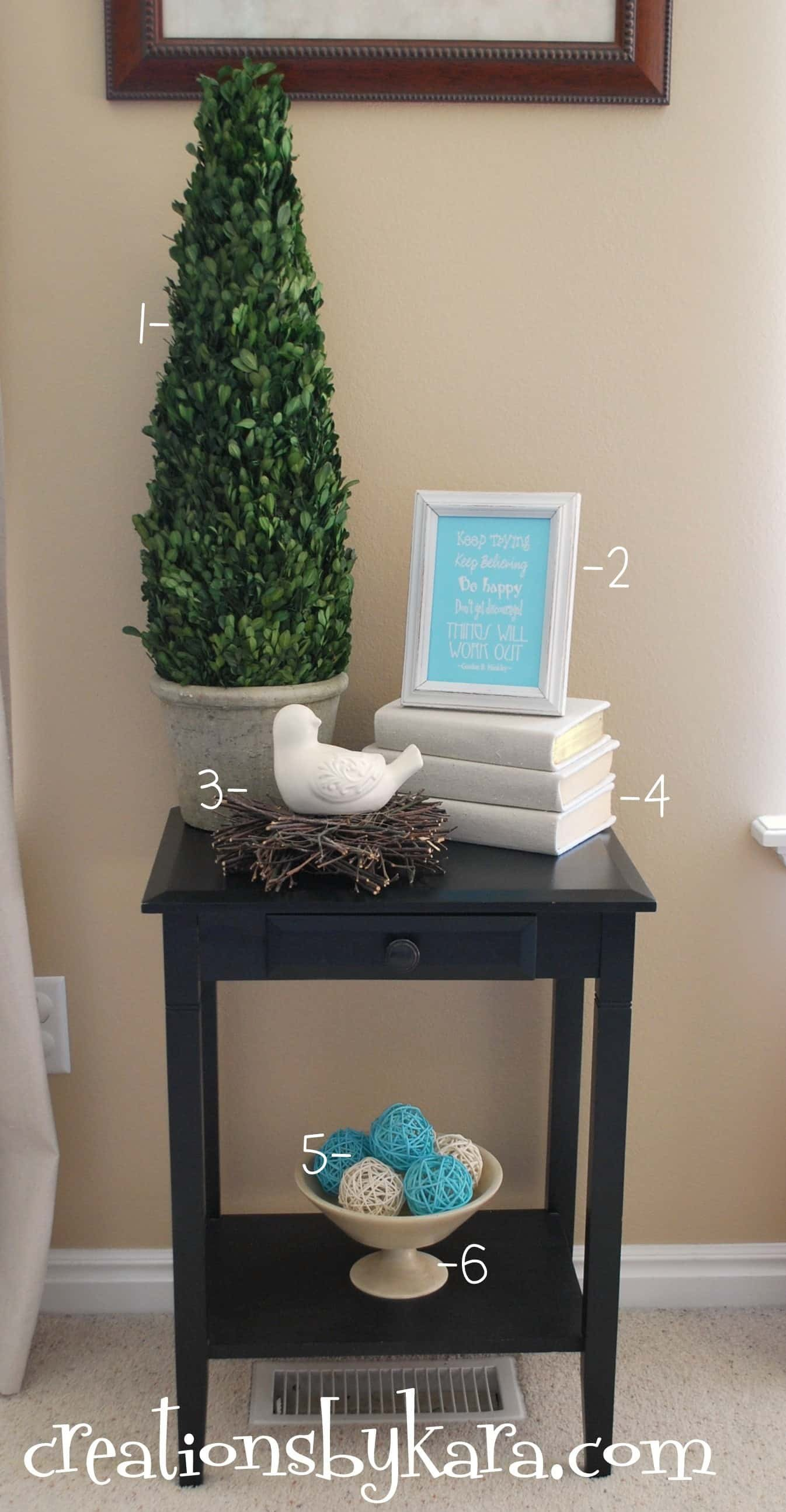 Table Decor for Living Room Diy Decorating Living Room Table Creations by Kara