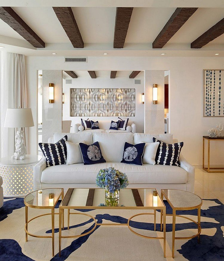 Table Decorating Ideas Living Room 15 Mirrored Center Table Ideas to Sparkle Your Home Decor