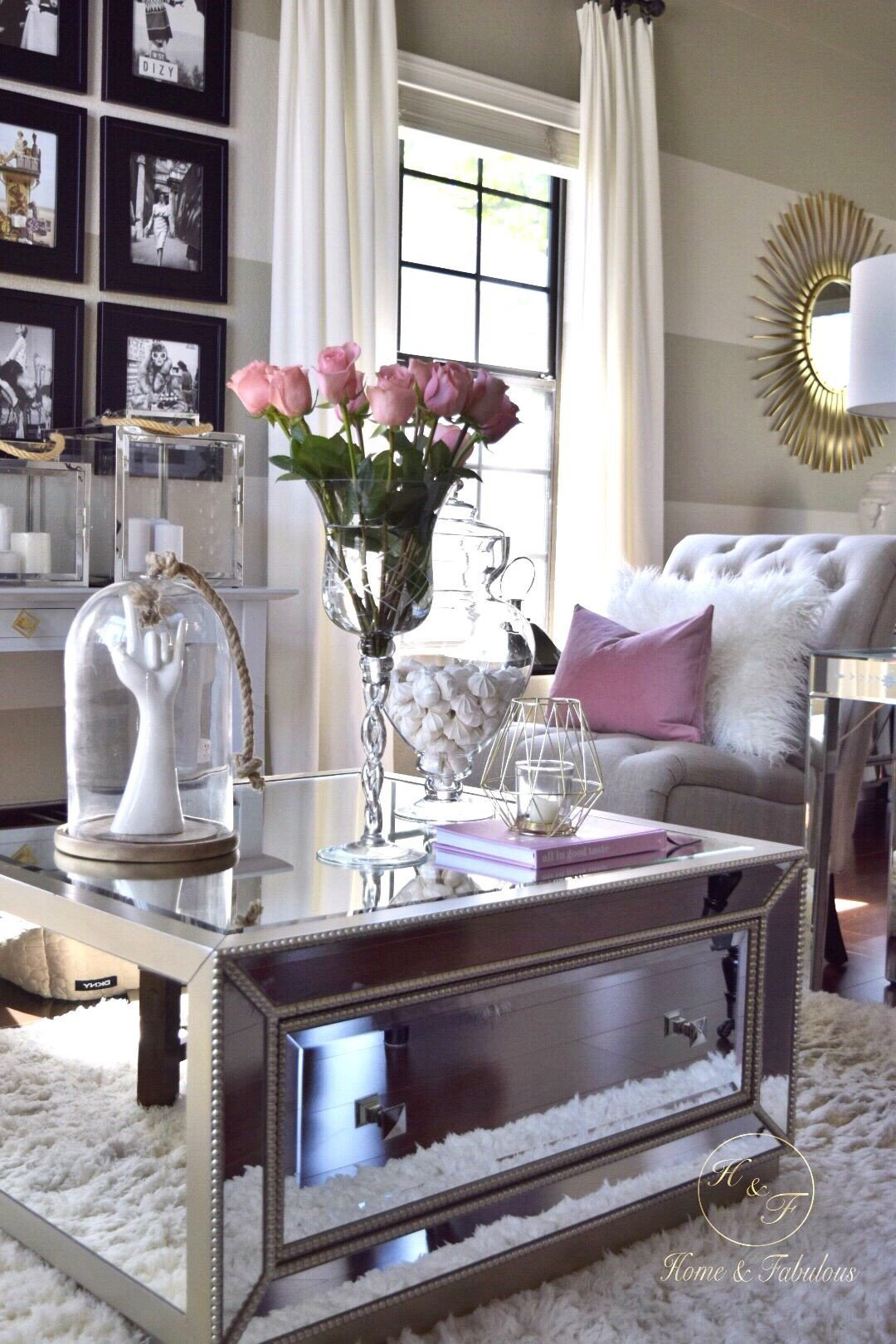 Table Decorating Ideas Living Room Home and Fabulous In 2019 Dream Home